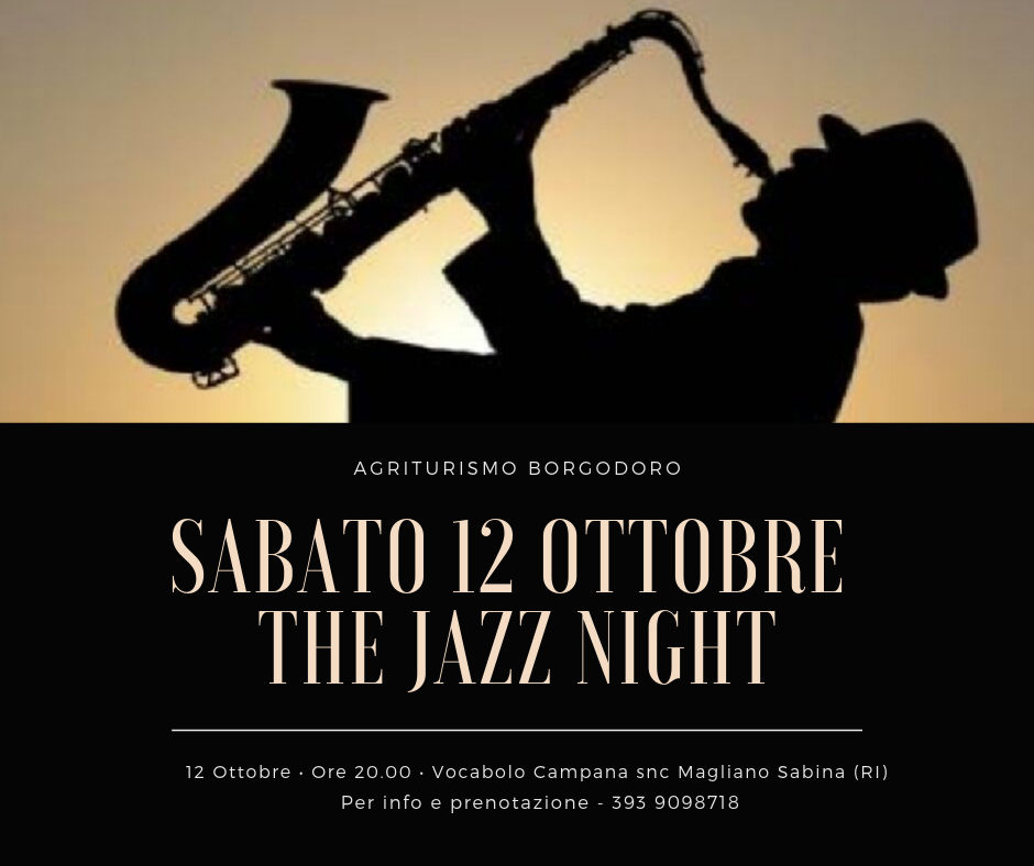 sabato 12 ottobre jazz